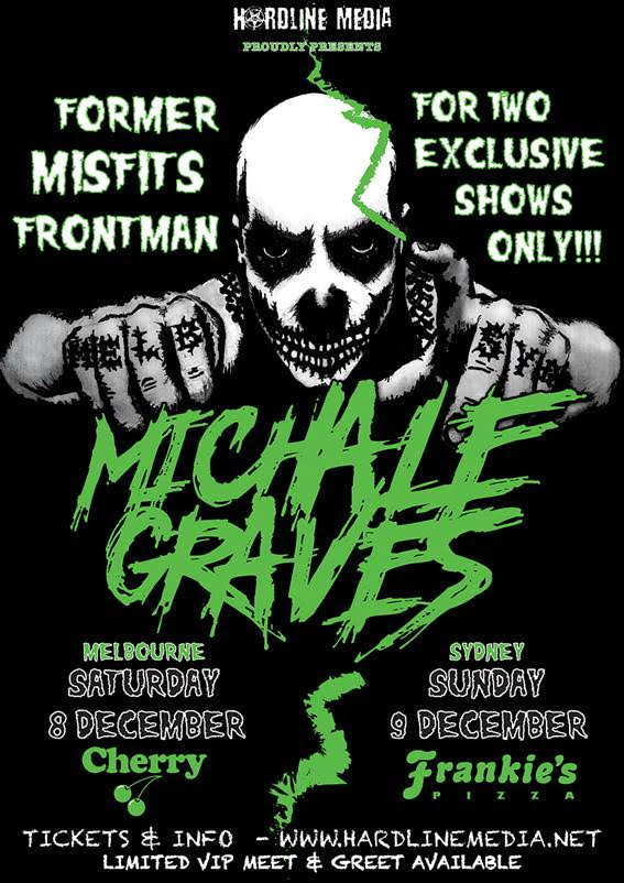 Image of MICHALE GRAVES - Australian Tour Poster - 2018