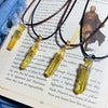 Jedi Rogue Kyber Pendant in Yellow