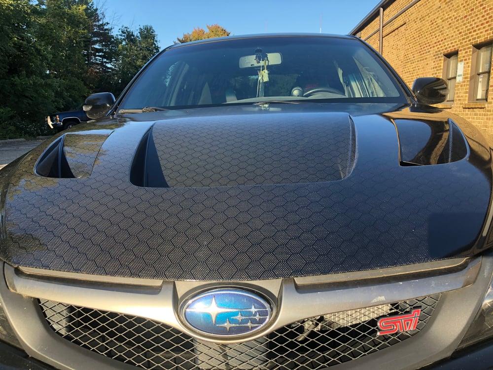 Image of Subaru GR/GV GTspec hood