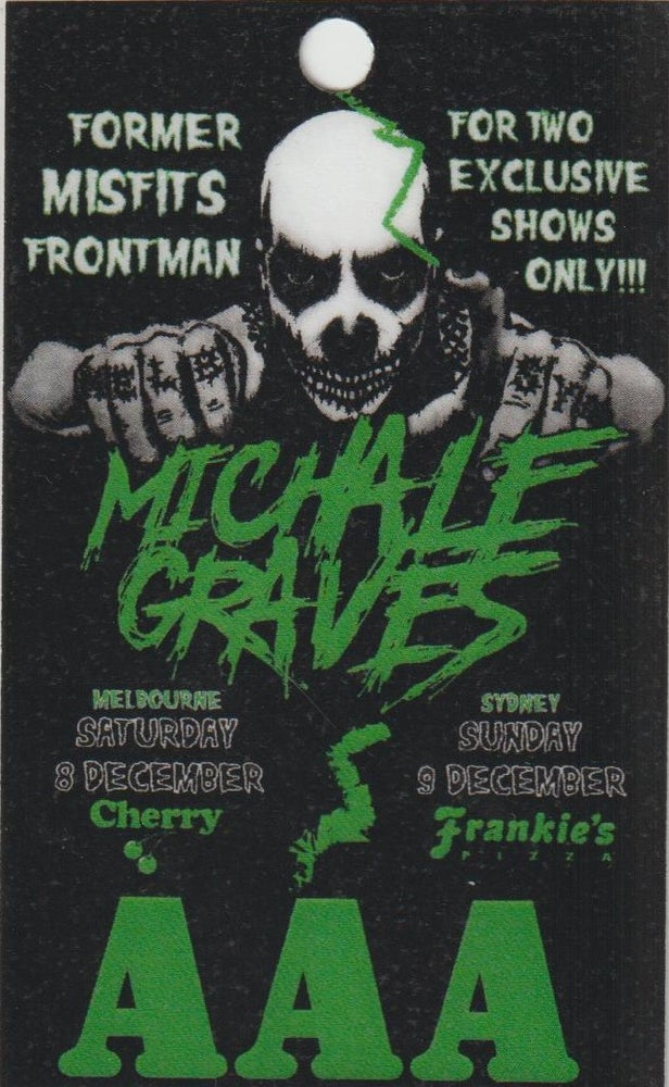 Image of MICHALE GRAVES - Aussie Tour - AAA Laminate