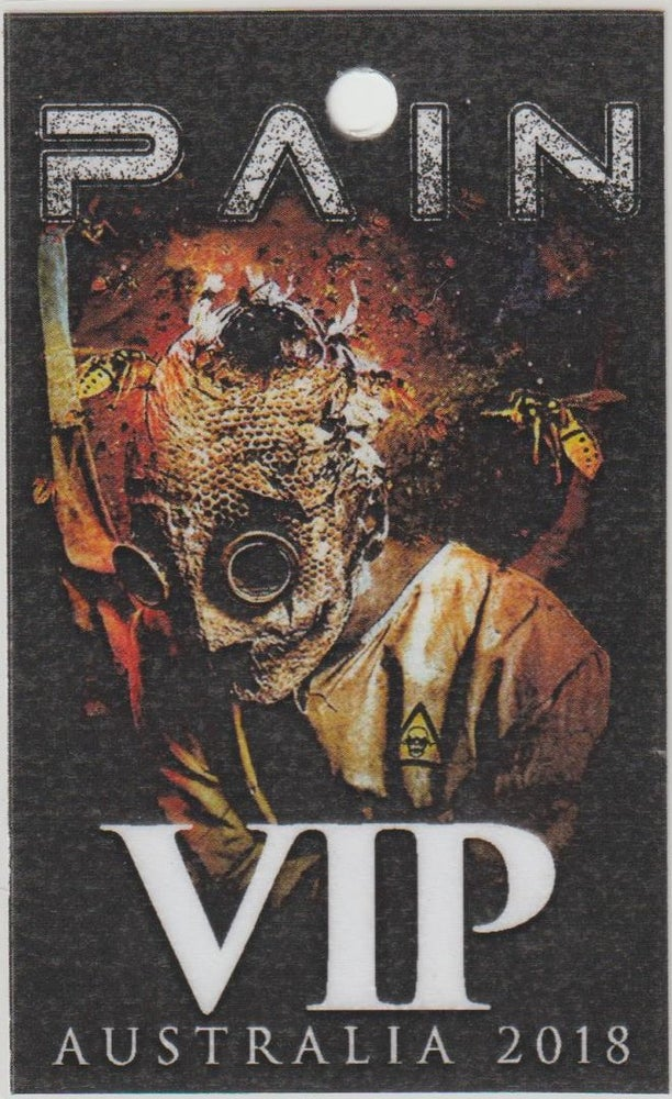 Image of PAIN - Aussie Tour VIP Laminate