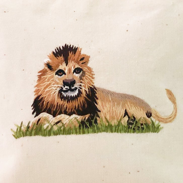 "Image of Trousse de toilette ""Lion"""