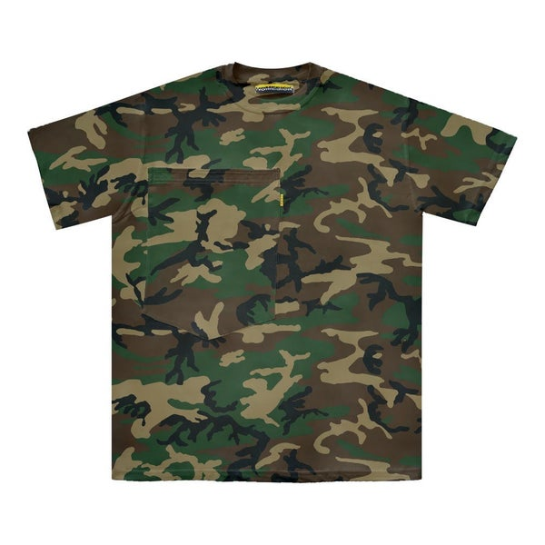 Image of Oversized Pocket Tee (Camo)