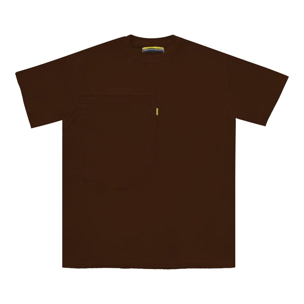 Image of Oversized Pocket Tee (Brown)