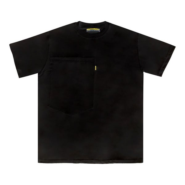 Image of Oversized Pocket Tee (Black)