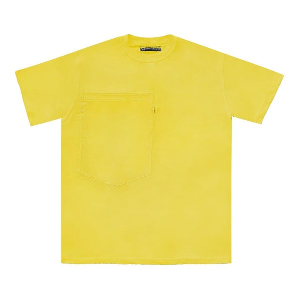 Image of Oversized Pocket Tee (Yellow)