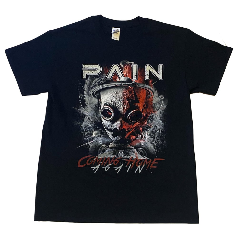 Image of PAIN - Coming Home Again - Aussie Tour Shirt / Dates on Back