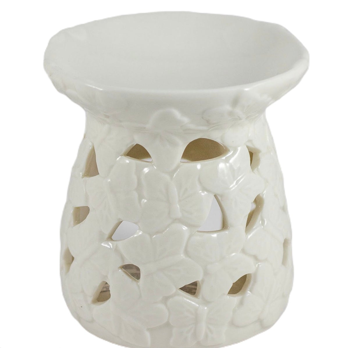Image of Embossed butterfly wax/oil burner