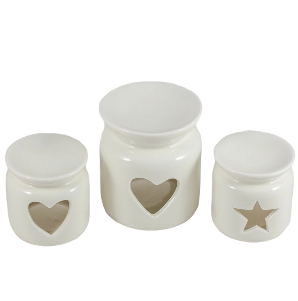 Image of Heart & Star Wax/oil burners