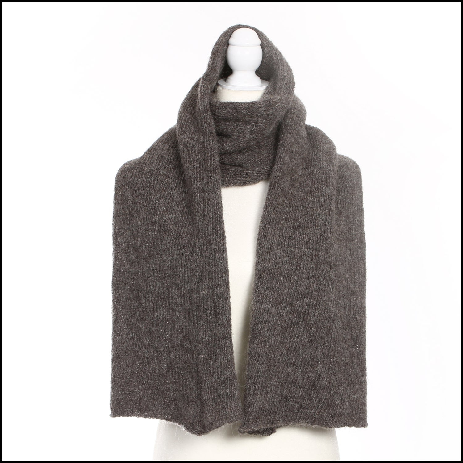 Image of Chalet Scarf -  grey
