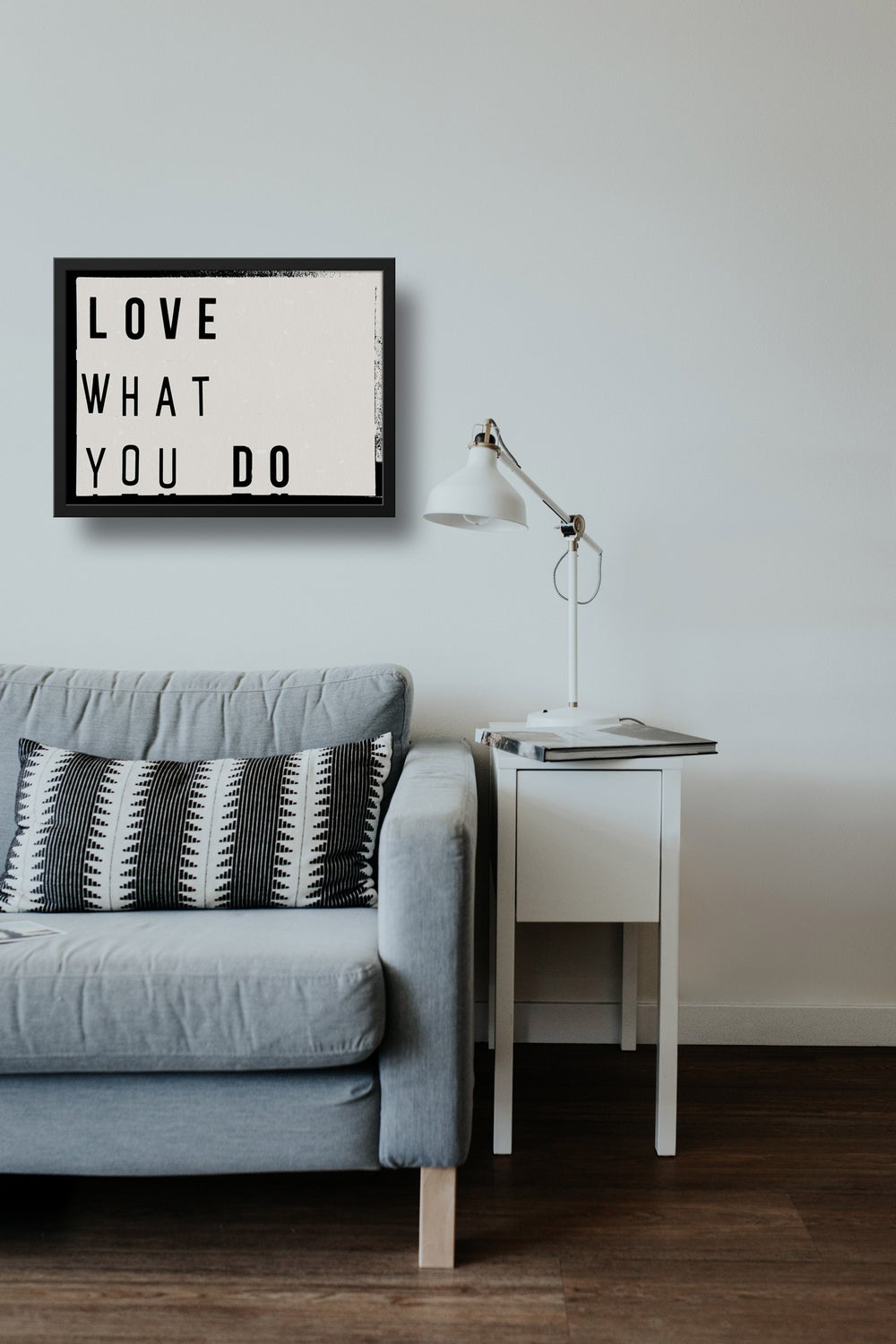 Love What You Do Lightbox Quote