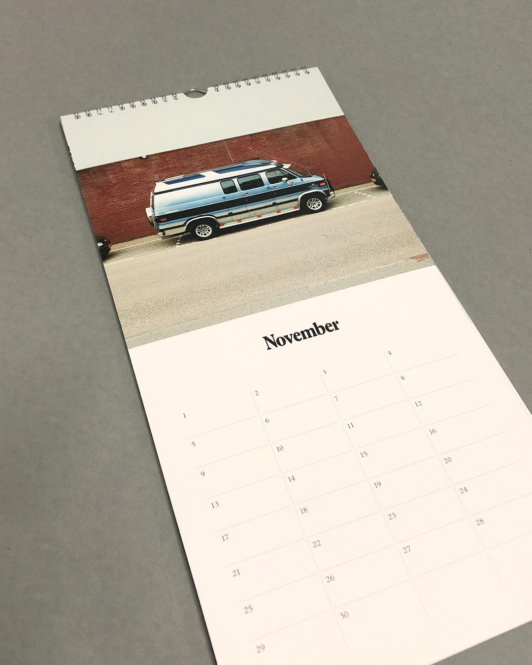 Image of The Dream Car Birthday Calendar