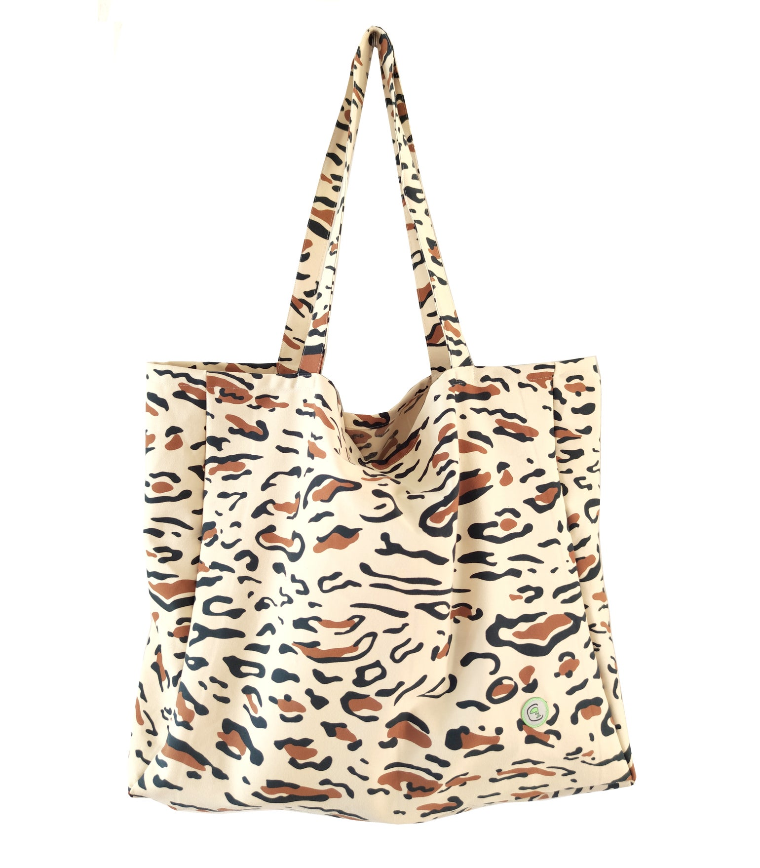 """Image of Tote Bag """"Animal Print"""""""