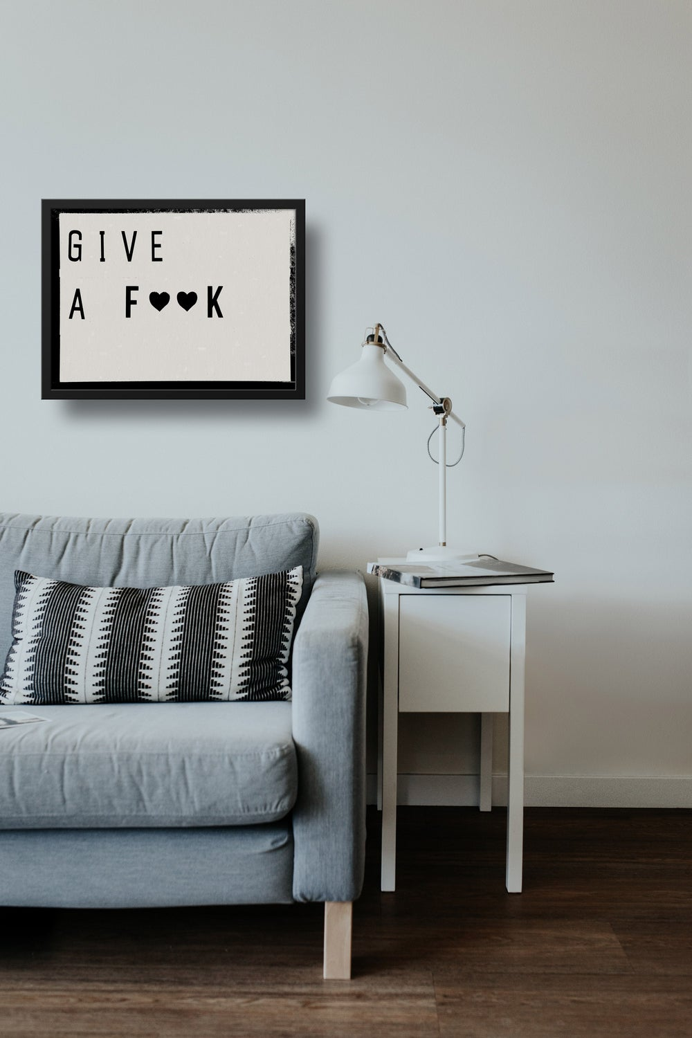 Give a Fook Lightbox Quote