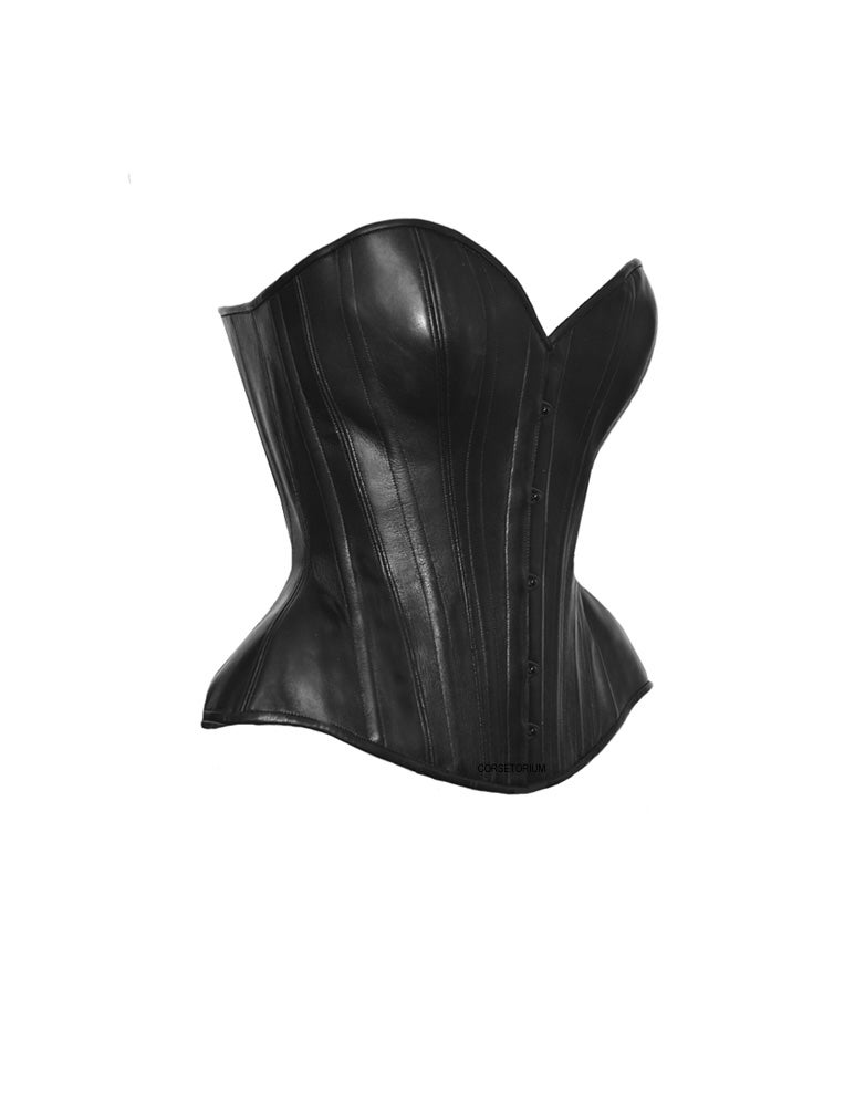 Image of CYRA LEATHER CORSET