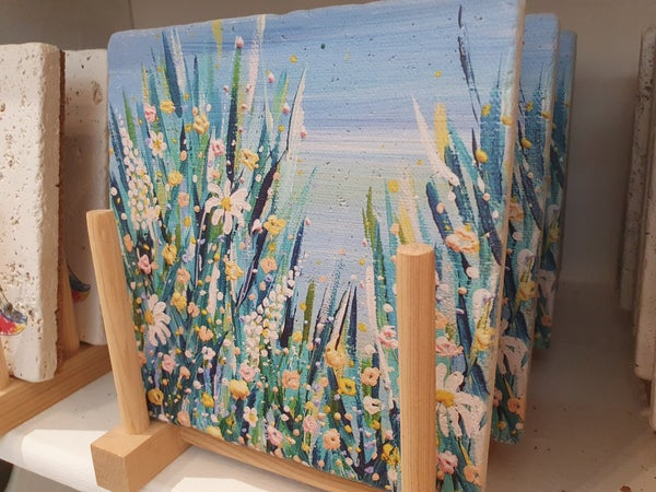 Image of 'Ditsy Daisy' Stone Mat - Small, Medium & Large