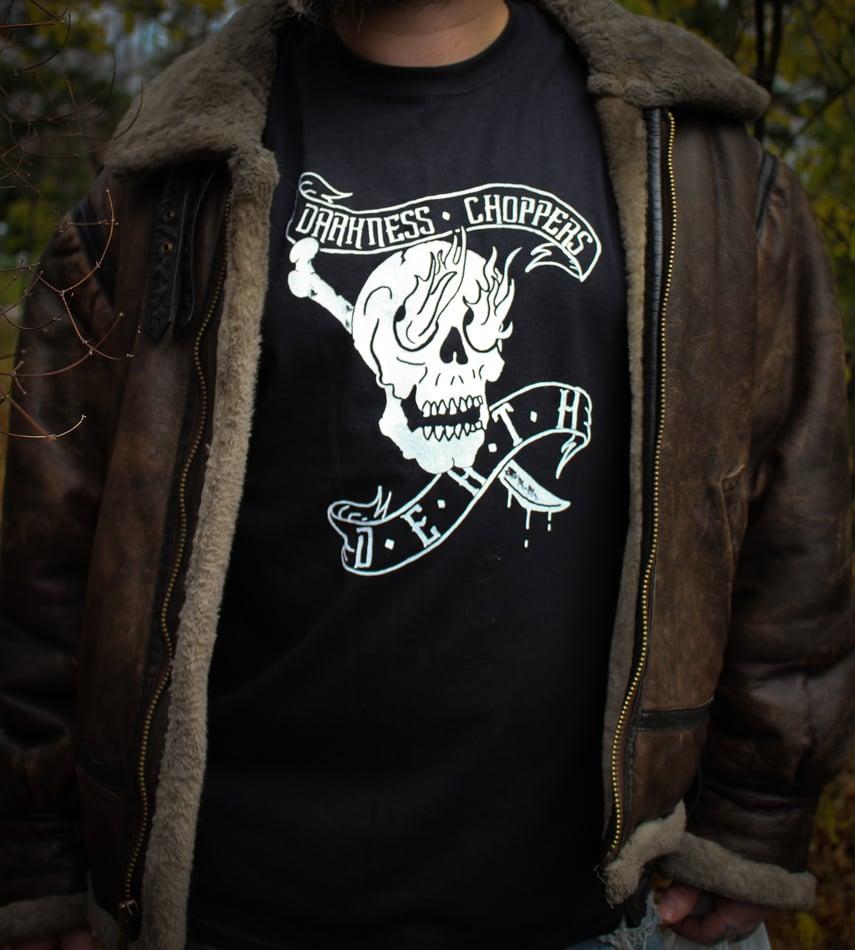 Image of DCD skull tshirt