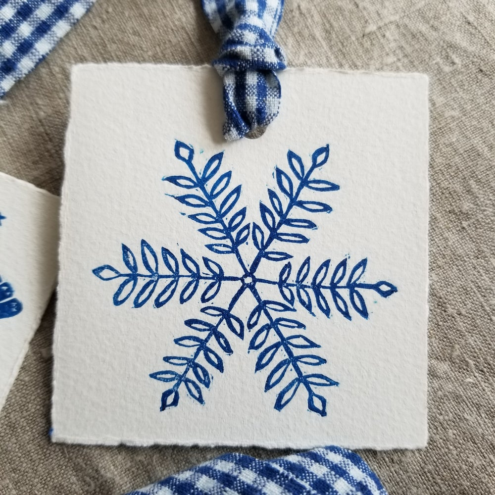 Image of Gift Tags - Set of 4 - Blue