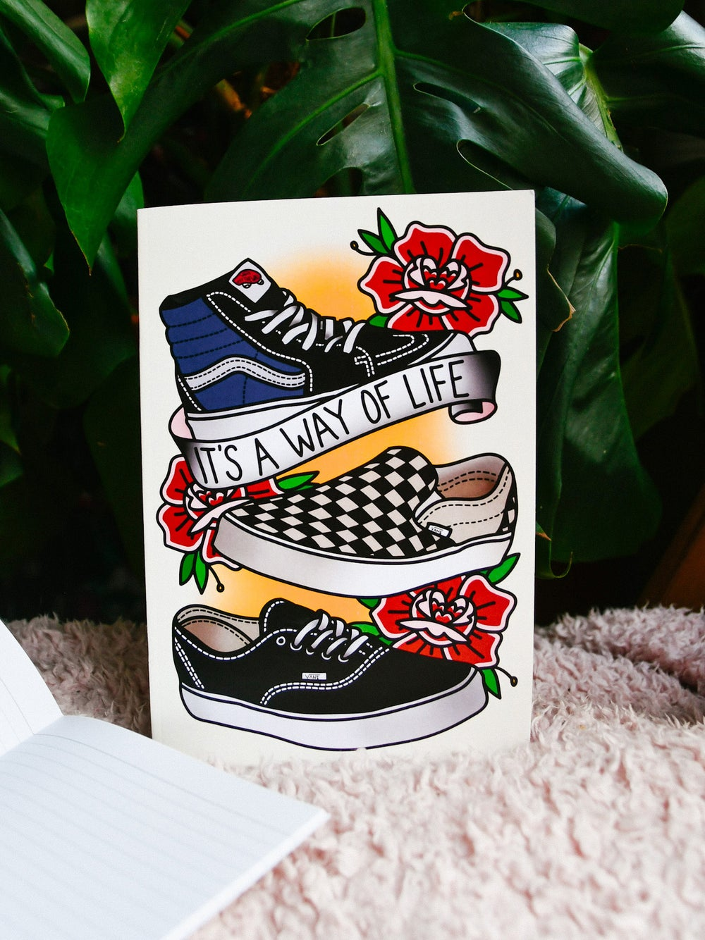 Image of Notebook Shoes (A5 sized)