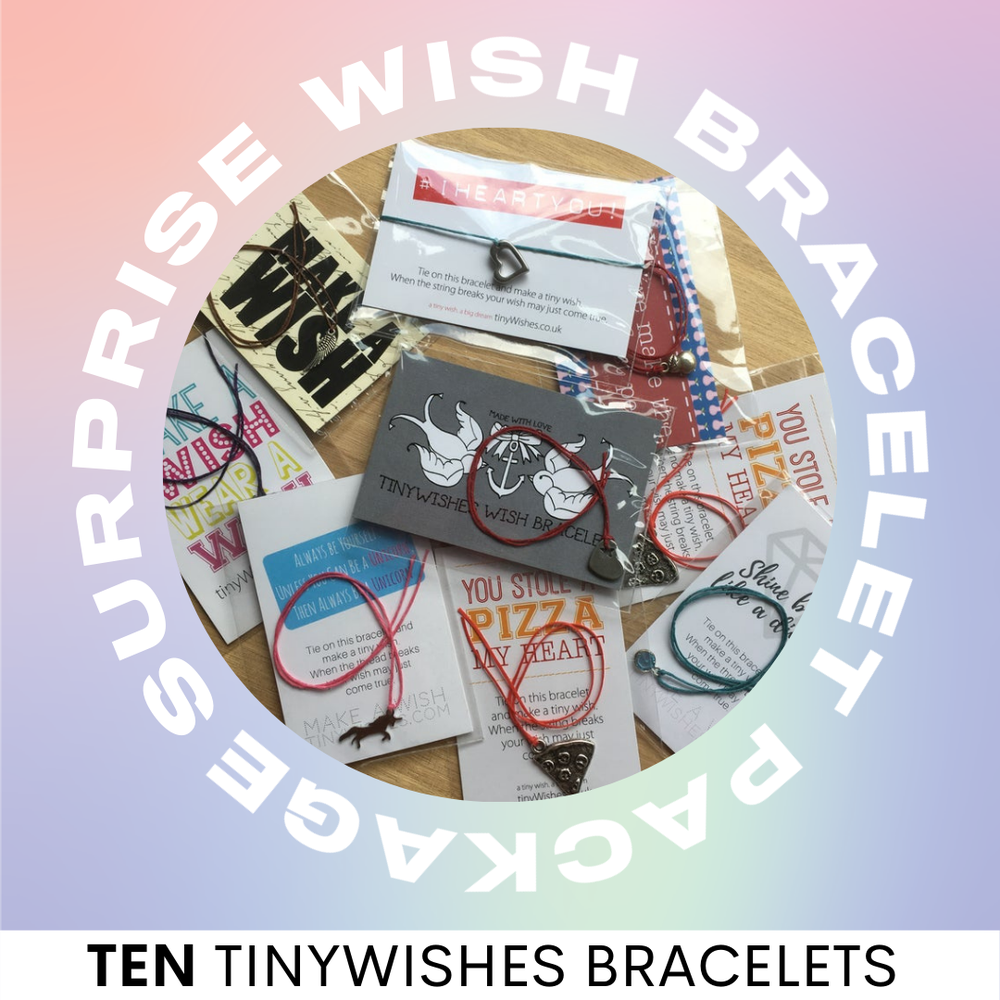 Image of Wish Bracelets x10 Surprise Package