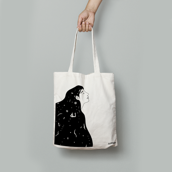 Image of Totebag Sea Hair