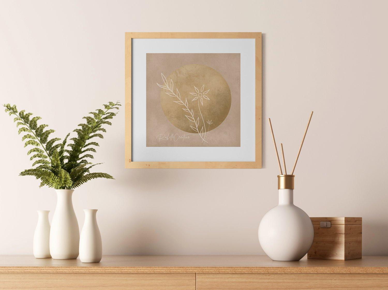Image of Moon Art Print