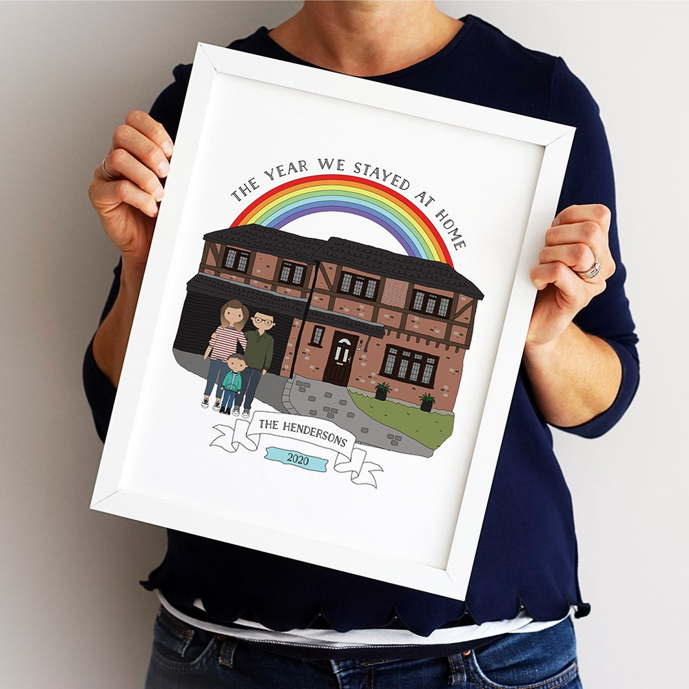 Image of Personalised Our Home Print