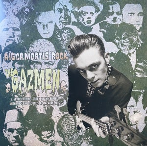 "Image of 10""EP.  The Gazmen : Rigormortis Rock.   Ltd Edition."