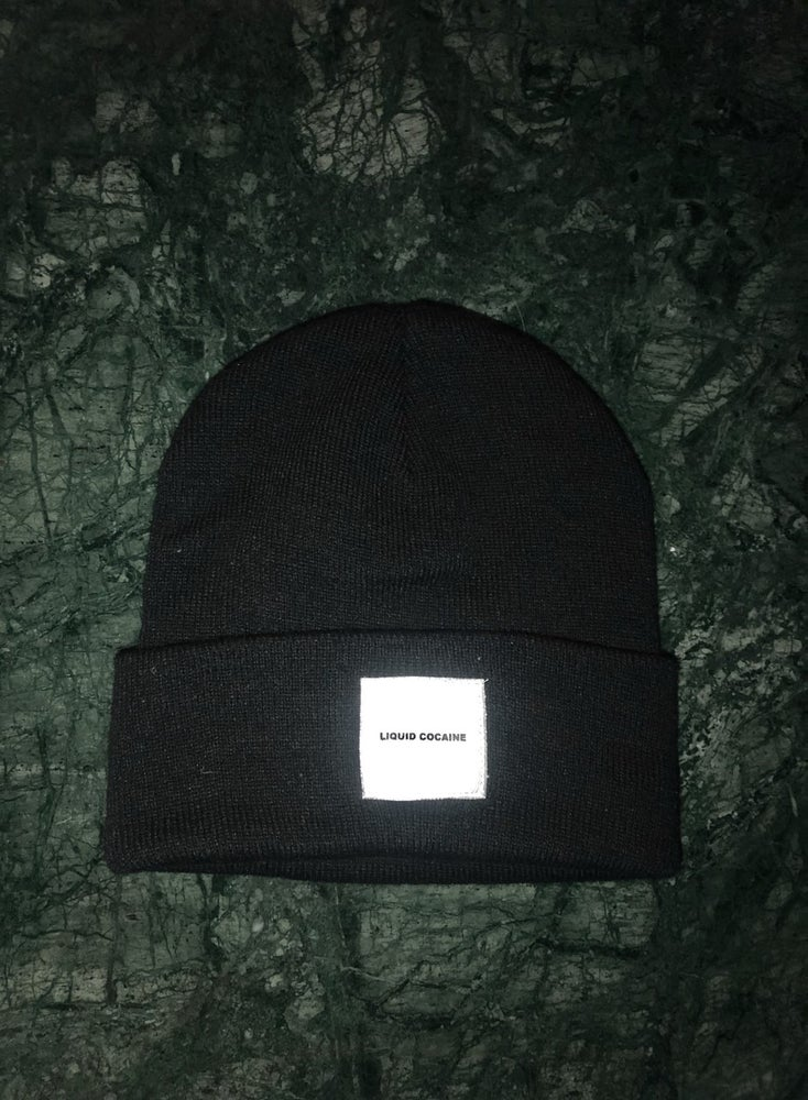 "Image of Liquid Cocaine ""White Box"" Support Beanie"