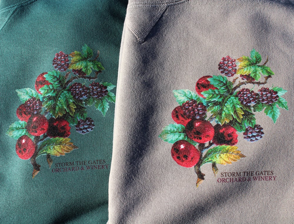 Image of **PRE-ORDER** ORCHARD & WINERY CREWNECK SWEATSHIRT (CACTUS)