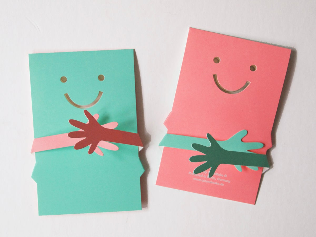 Image of Two Hug Cards