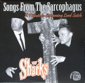 "Image of 10""EP.  The Sharks : Songs From The Sarcophagus.  Ltd Edition."