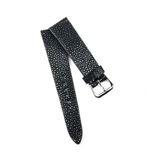 Image of Black Stingray classic watch strap