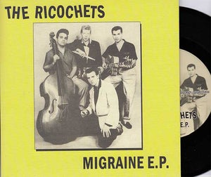 """Image of 7""""EP.  The Ricochets : Migraine EP."""