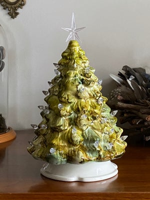 Image of Ceramic Christmas Tree - Olive and Moss