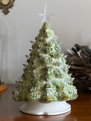 Image of Ceramic Christmas Tree - Mint, Lime and Moss