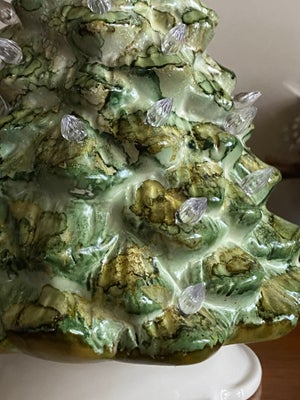 Image of Ceramic Christmas Tree - Forest and Olive