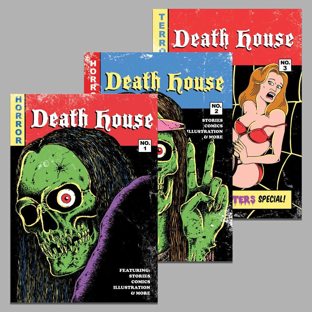 Image of DEATH HOUSE NO. 1, 2 & 3 DOWNLOAD