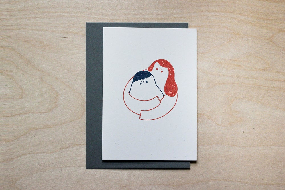 Image of MFEO Handmade 'Send a Hug' Greeting Card