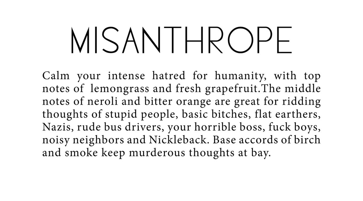 Image of Misanthrope Candle