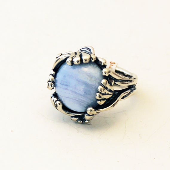 Image of Blue Lace Agate Ring by Crystal Hartman