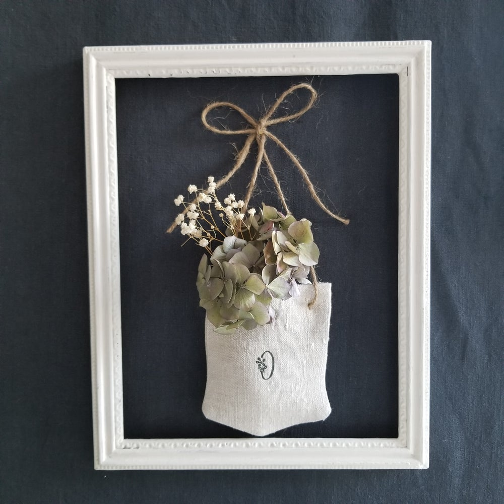 Image of Hanging Pocket Monogram - Grey