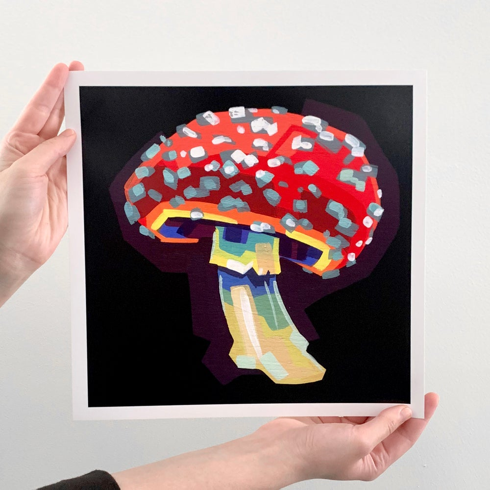 "Fly Agaric (Amanita Muscaria) - Signed 12"" Prints"