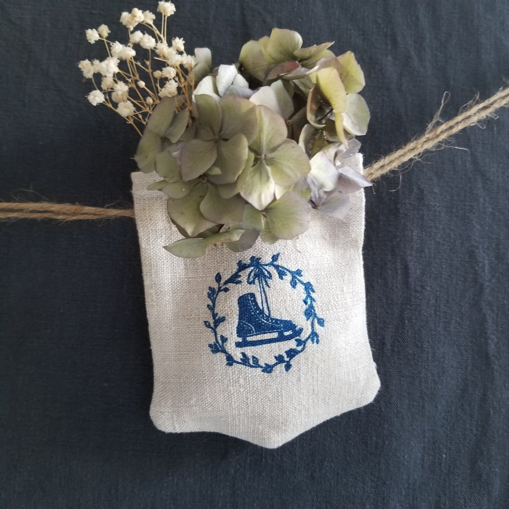 Image of Noël Pocket Garland - Blue