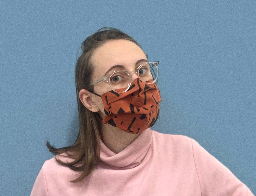 Image of CUT OUTS FACE MASK