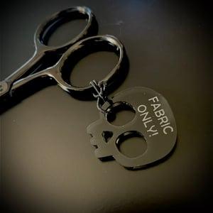 Hands Off My Scissors Fob
