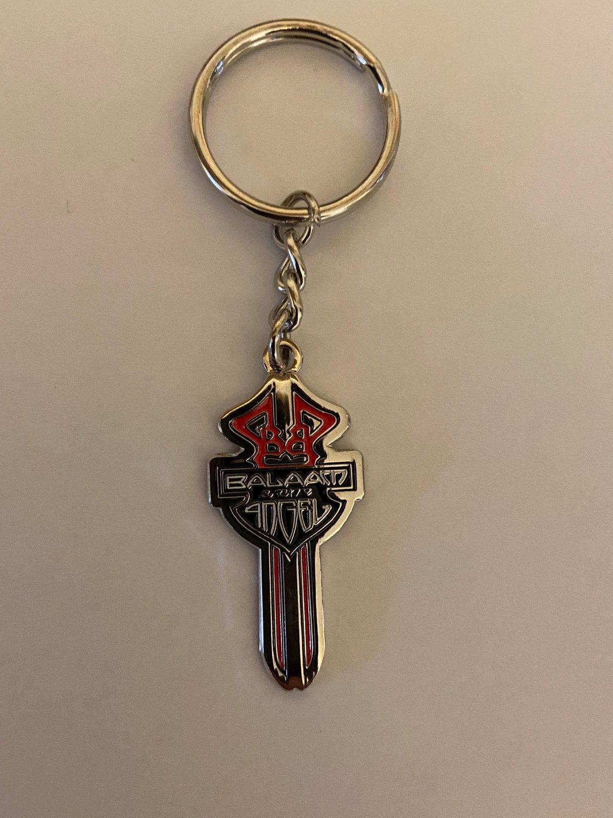 Image of Swords  Keyring