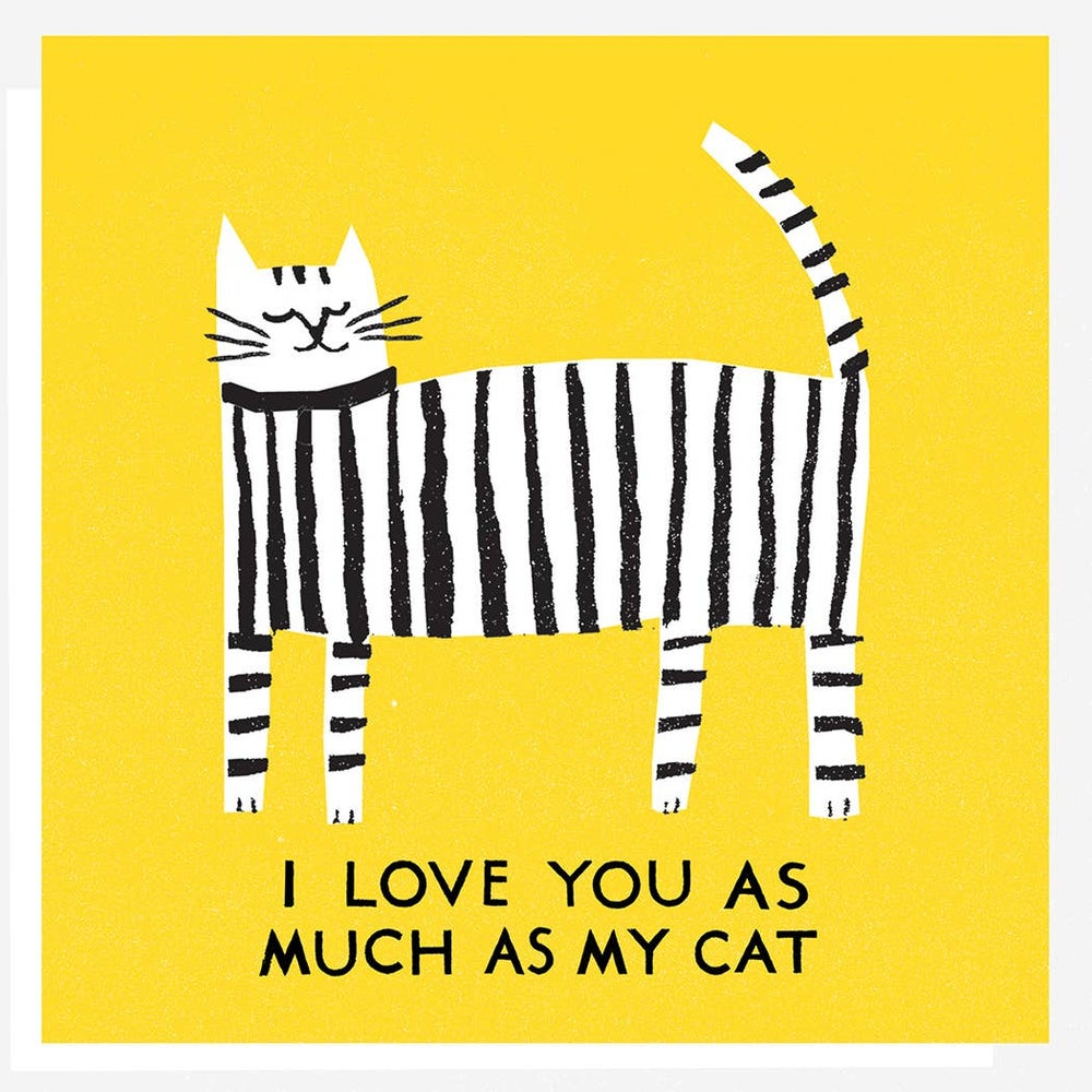 Image of Love Cat Card