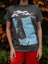 'Catharsis' Limited Edition T-Shirt - Blue on Grey
