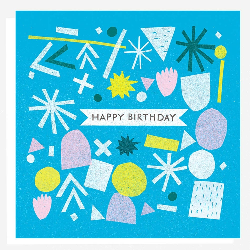 Image of Birthday Shapes Card